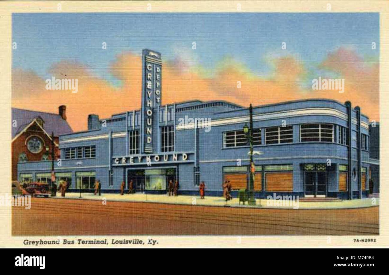Greyhound Bus Terminal Stock Photos & Greyhound Bus Terminal Stock