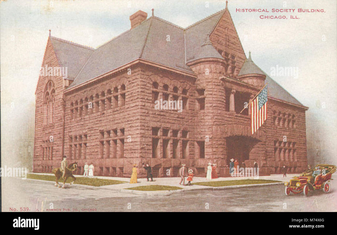 Historical Society Building (NBY 415438) - Stock Image