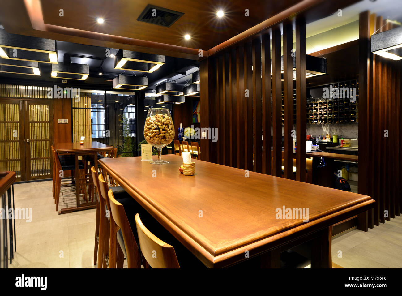 Relax Wine Bar Decorate For After Working Meeting Talking