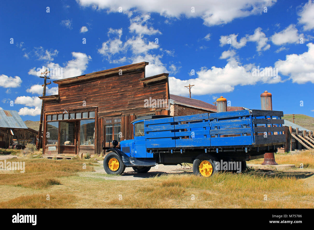 Bodie California Ghost Town - Stock Image