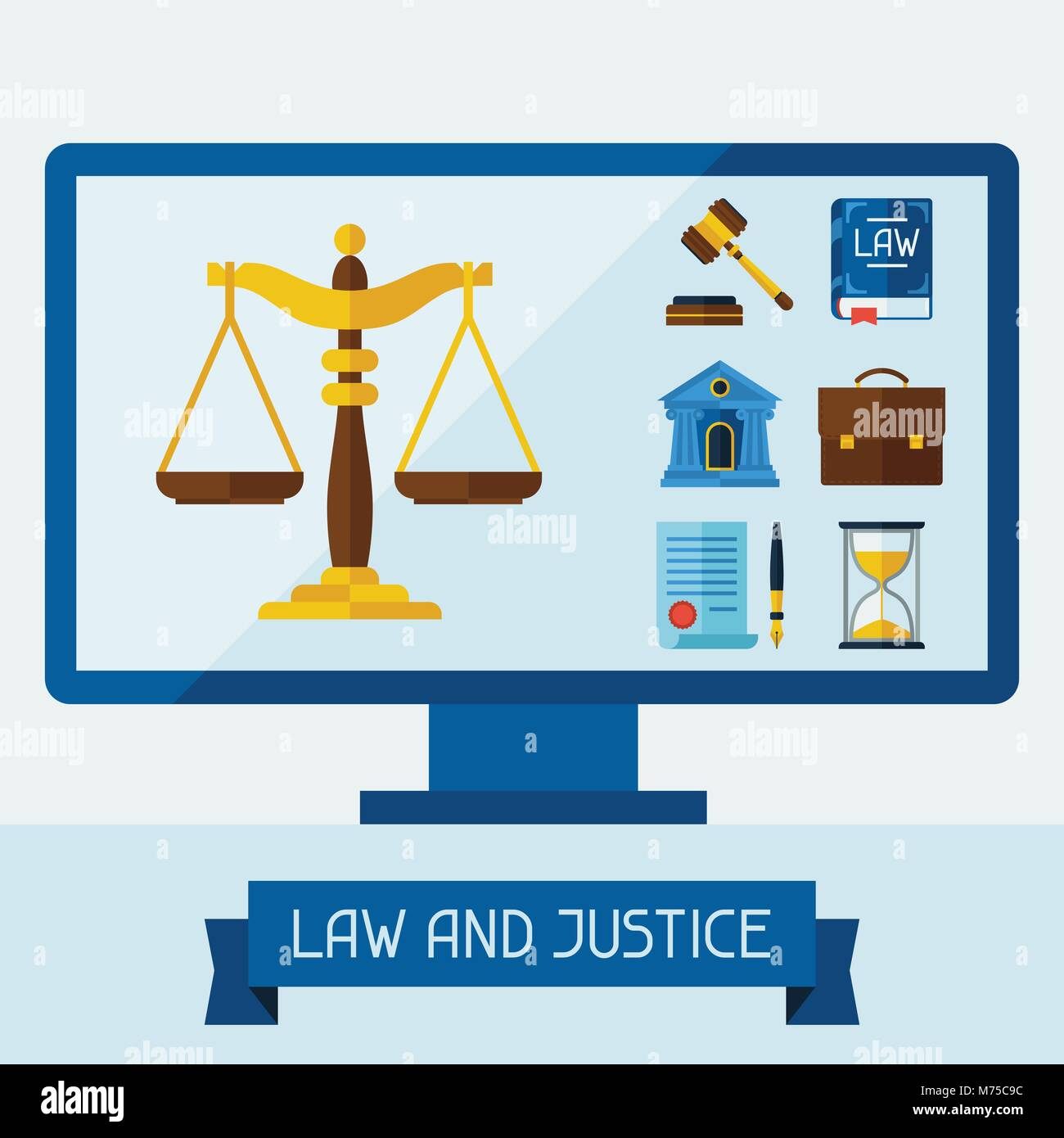 Legal Document Ribbon Stock Photos Amp Legal Document Ribbon