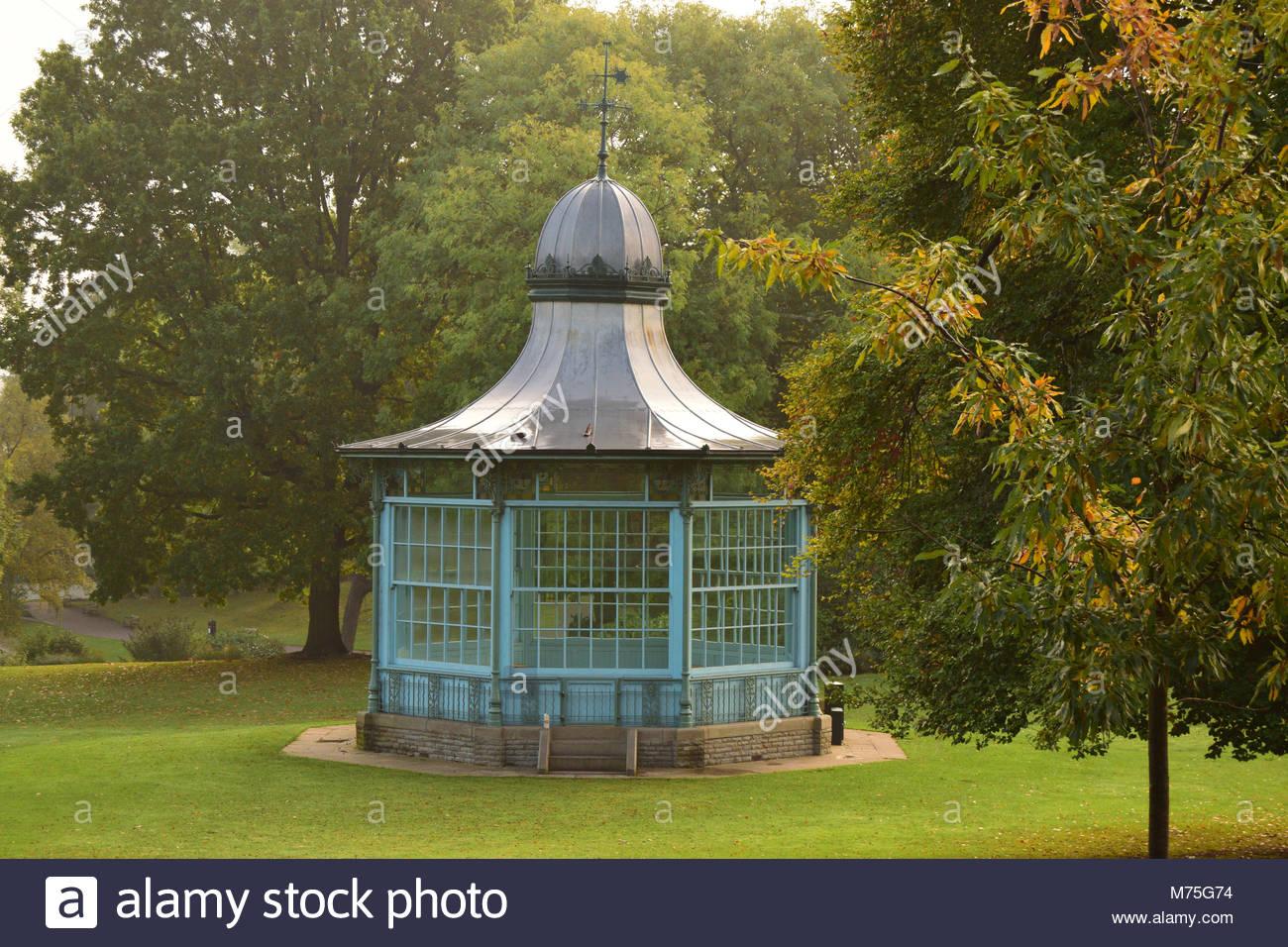 Weston park bandstand,Sheffield,2016 - Stock Image