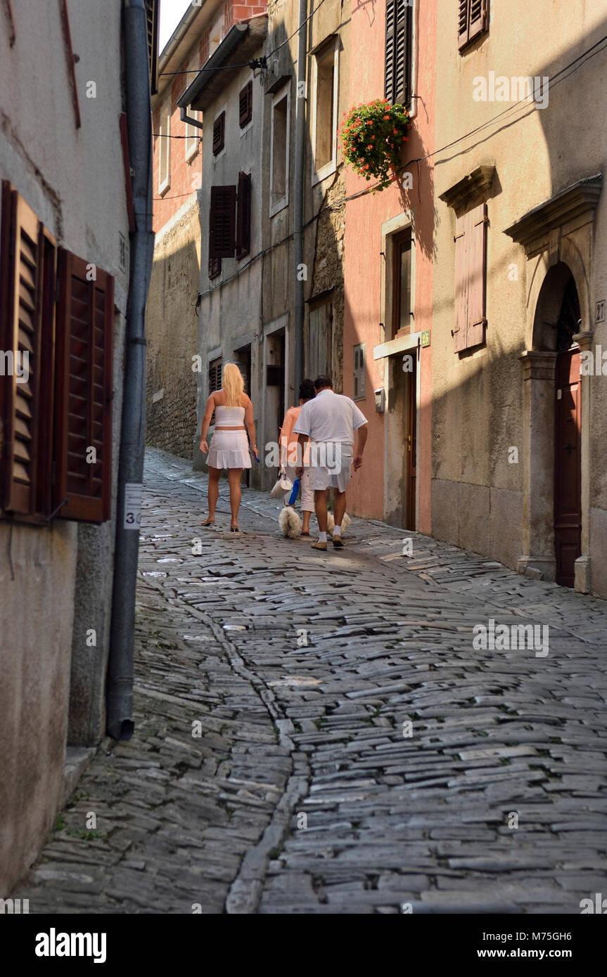 Motovun, central Istria, Croatia Stock Photo