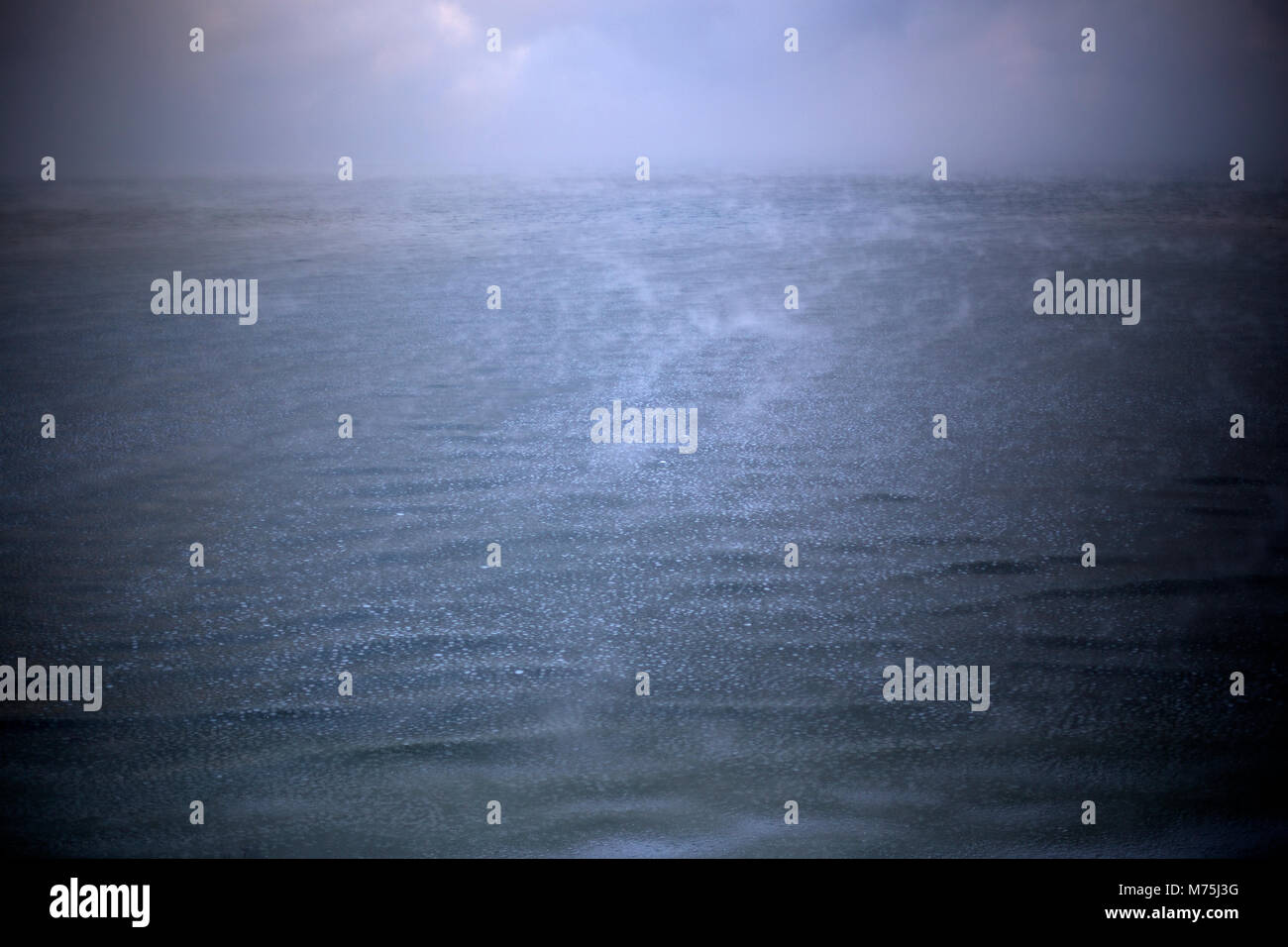 Balic sea at winter - Stock Image
