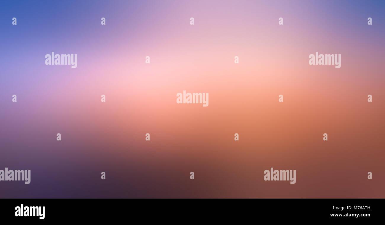 blue pink blur Orange purple Yellow abstract background - Stock Image