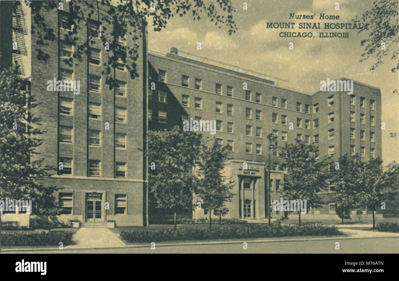 Mount Sinai Hospital (NBY 417083 Stock Photo: 176546517 - Alamy
