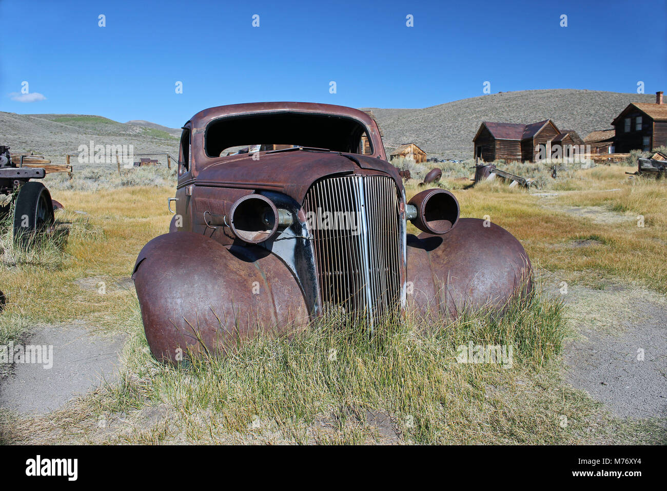 Bodie, California Ghost Town - Stock Image