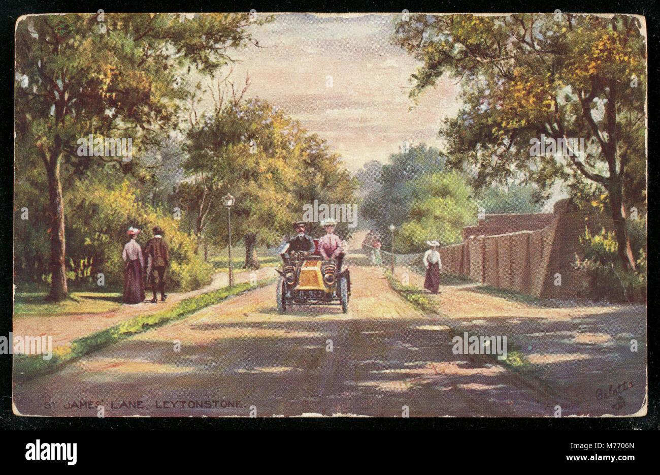 St. James' Lane. Leytonstone (NBY 440703) - Stock Image
