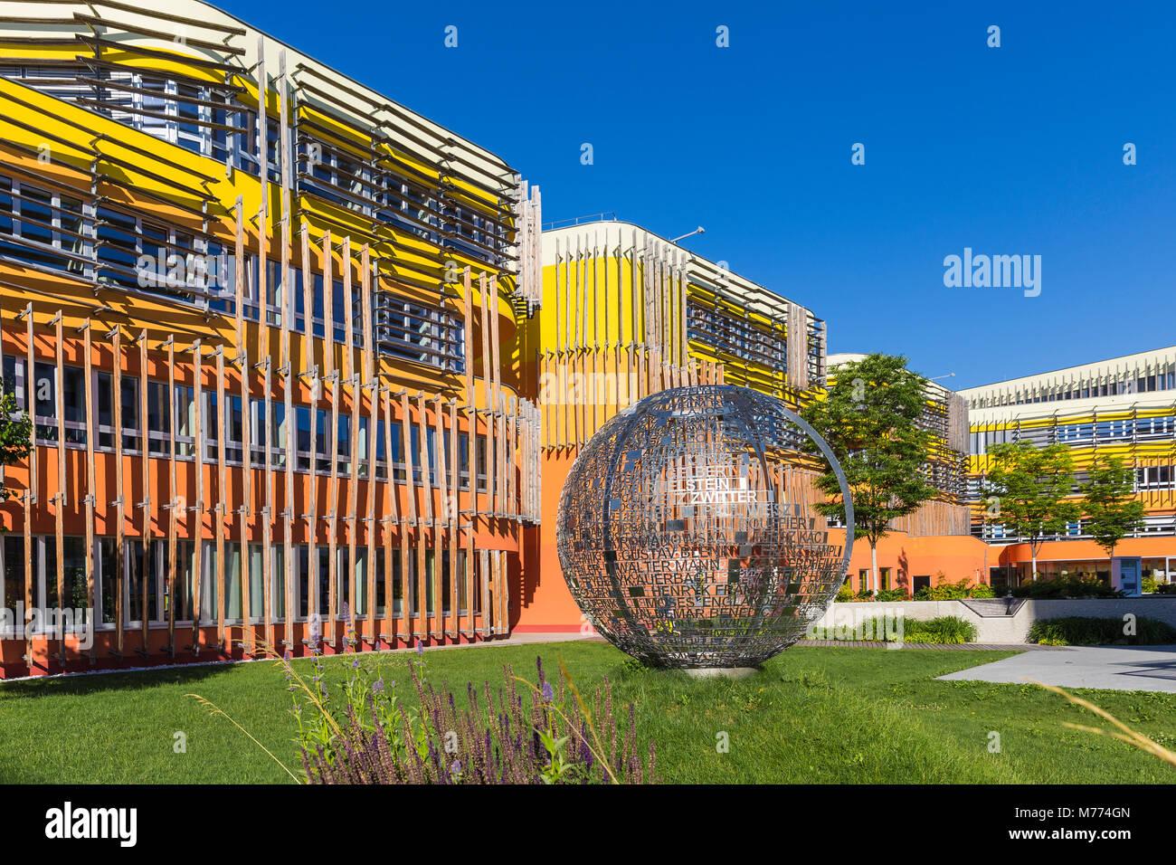 Vienna University of Economics and Business, Vienna, Austria, Europe - Stock Image