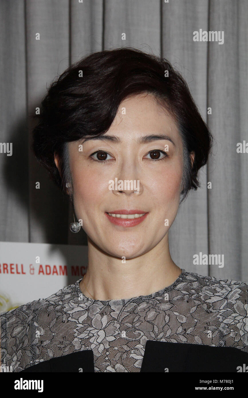 Shinobu Terajima  03/02/2018 'Oh Lucy!' Photocall held at The Huntley Hotel Santa Monica Beach in Santa - Stock Image