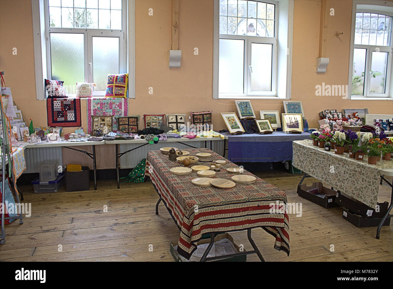 Skibbereen, West Cork, Ireland. 9th March, 2018. Skibbereen branch of the country market opens its doors every friday - Stock Image