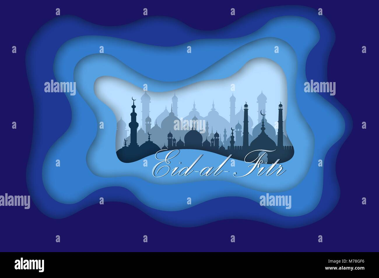 Eid al fitr mubarak greeting card vector illustration stock vector eid al fitr mubarak greeting card vector illustration m4hsunfo