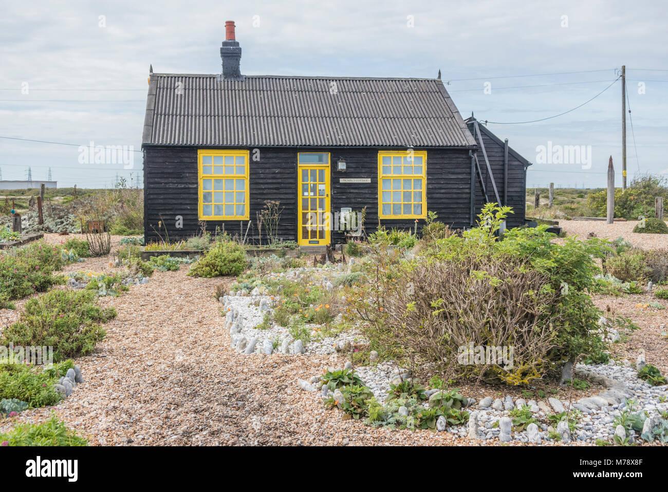 Prospect Cottage, home of the late director, Derek Jarman PHILLIP ROBERTS - Stock Image