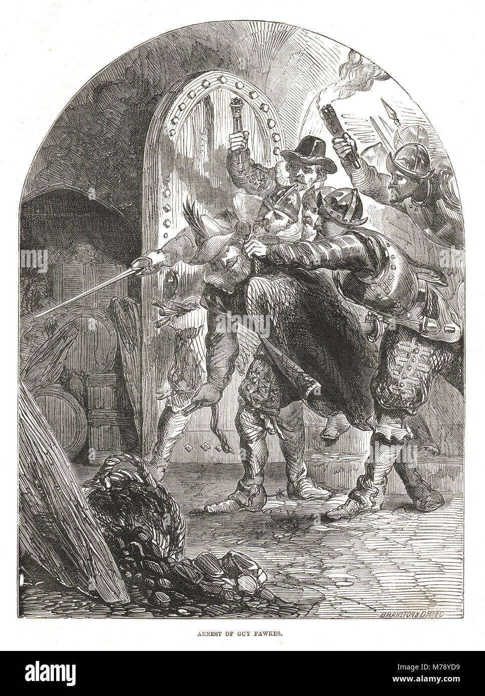 Gunpowder Plot Of 1605 Stock Photos & Gunpowder Plot Of 1605 Stock ...