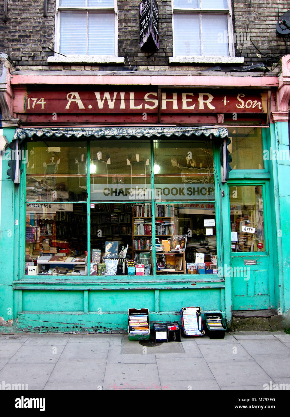 Bookseller - Stock Image