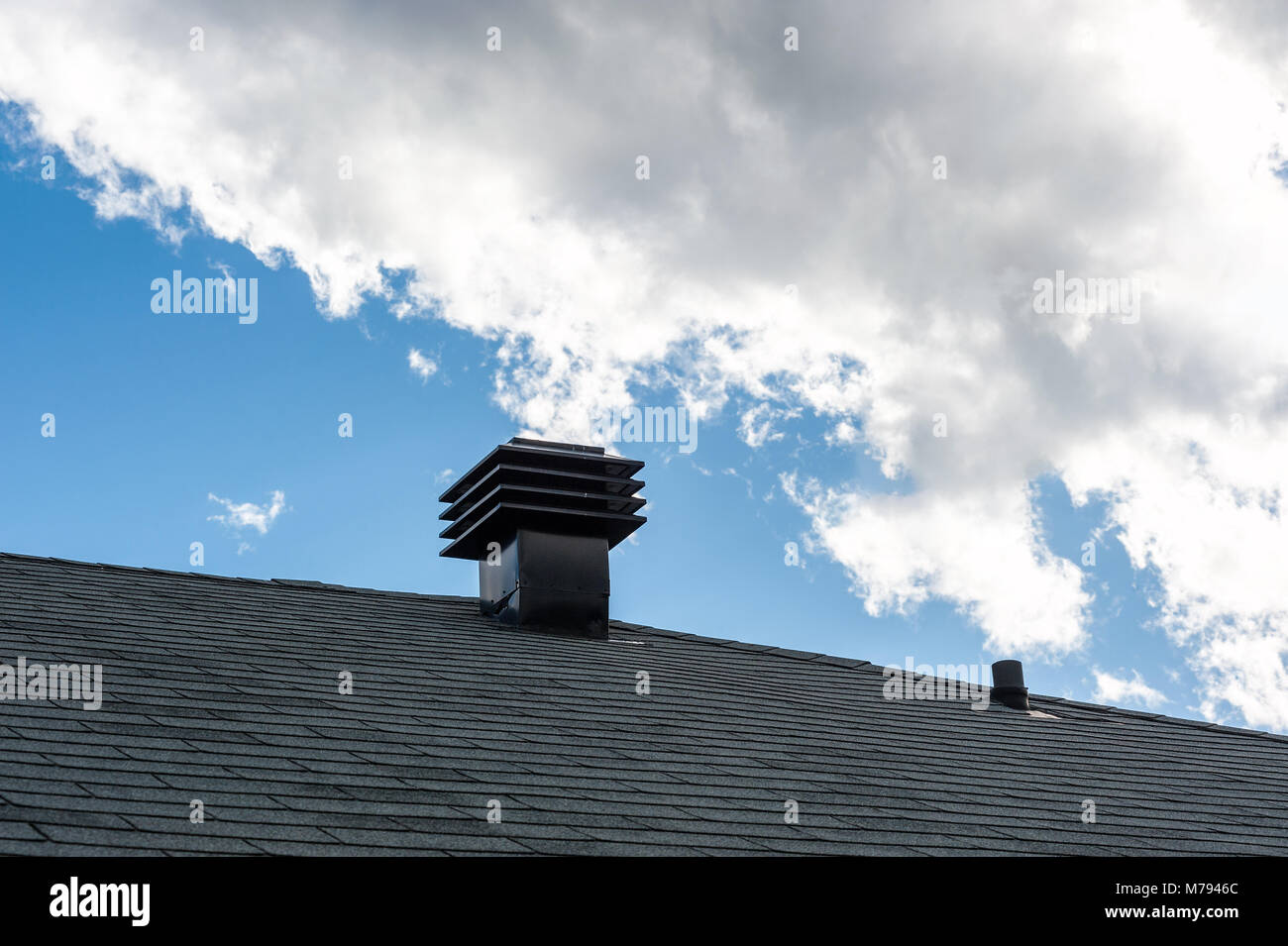Roof Vent Pipe Stock Photos & Roof Vent Pipe Stock Images - Alamy
