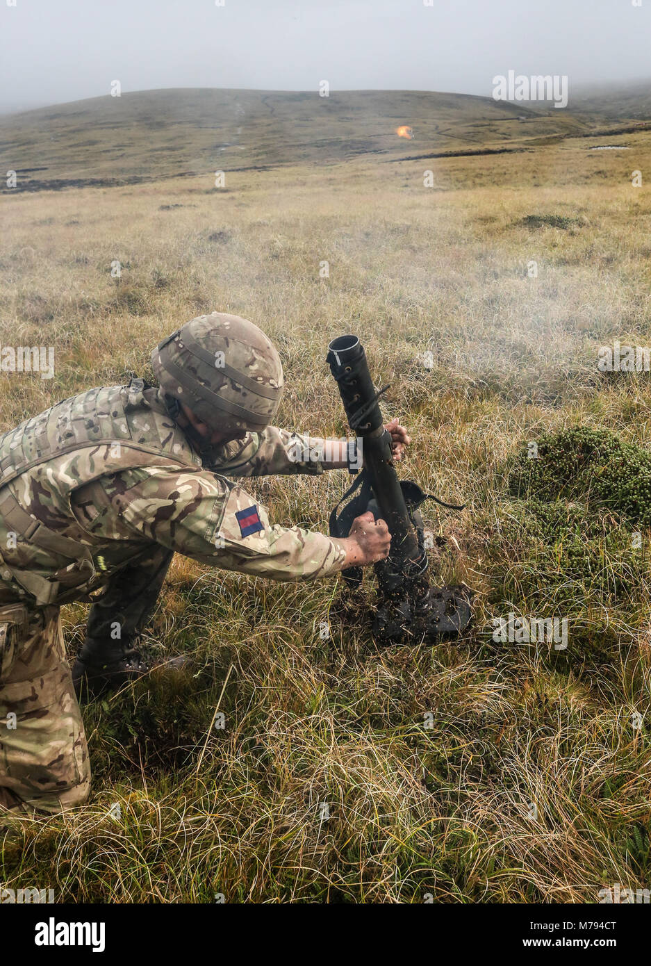 The Household Division on the Onion Range MOD 45163575 Stock Photo