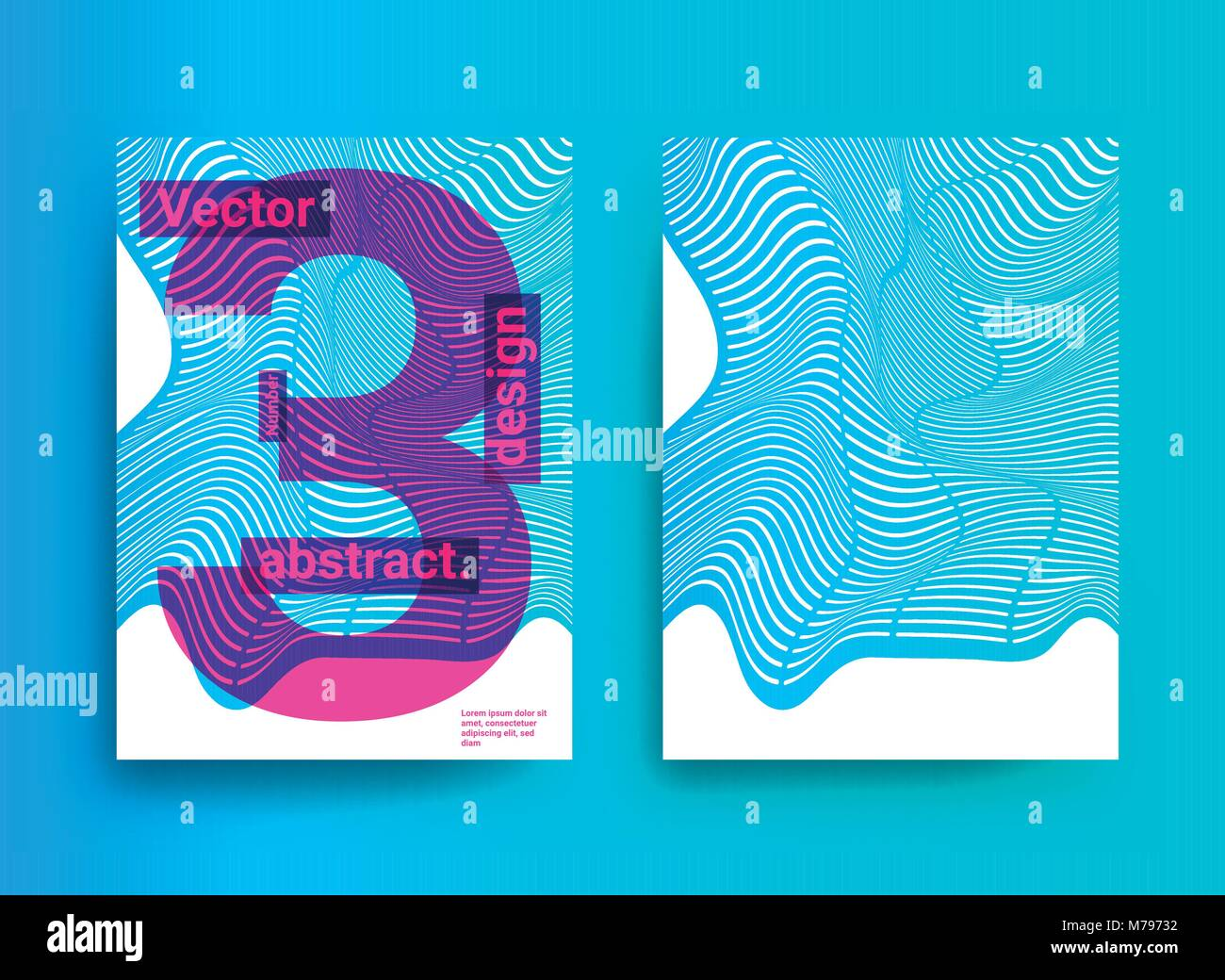 Trendy Poster Designs: Templates Designs With Abstract Background And Trendy