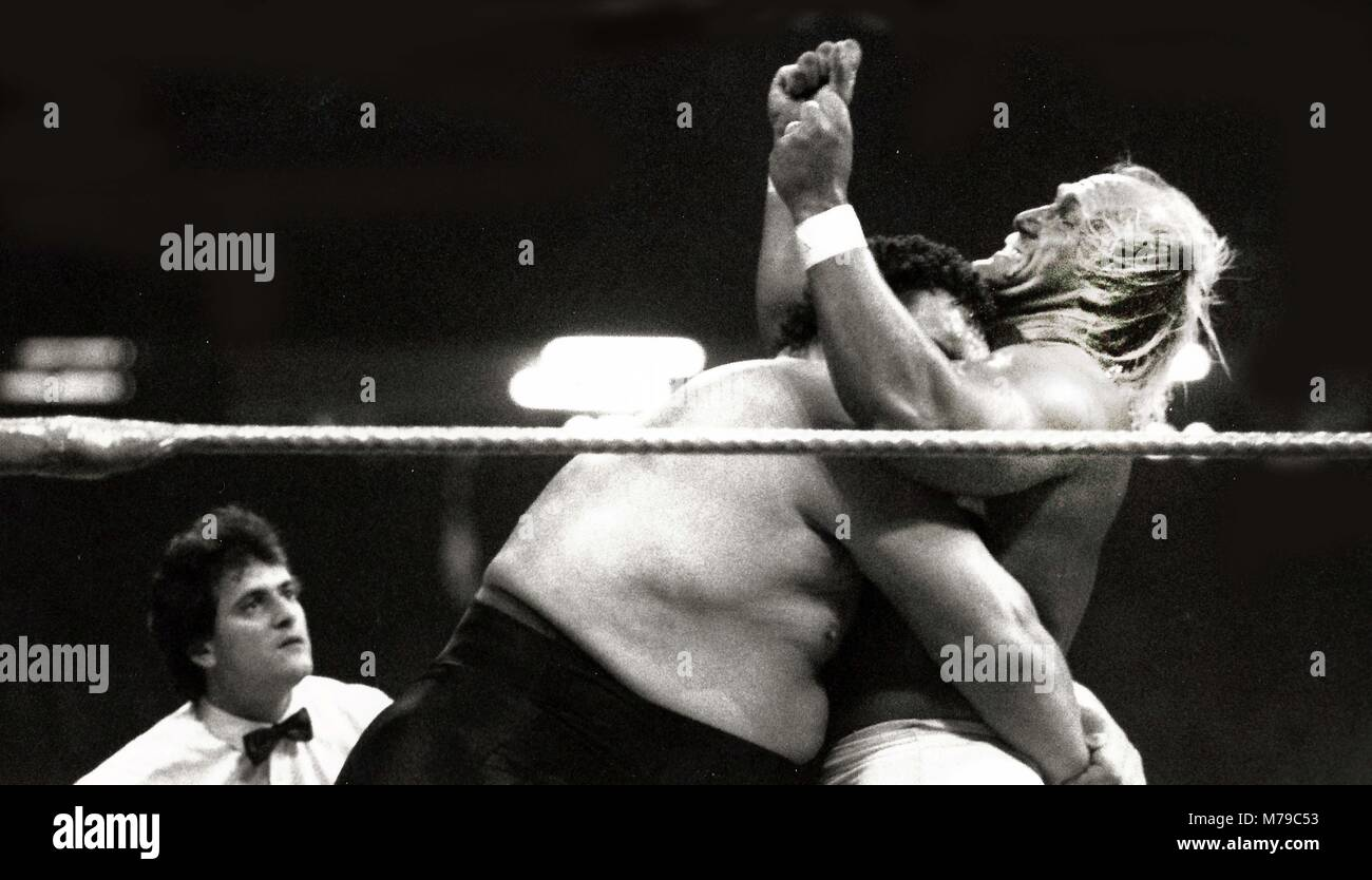 Andre The Giant Stock Photos Andre The Giant Stock Images Alamy