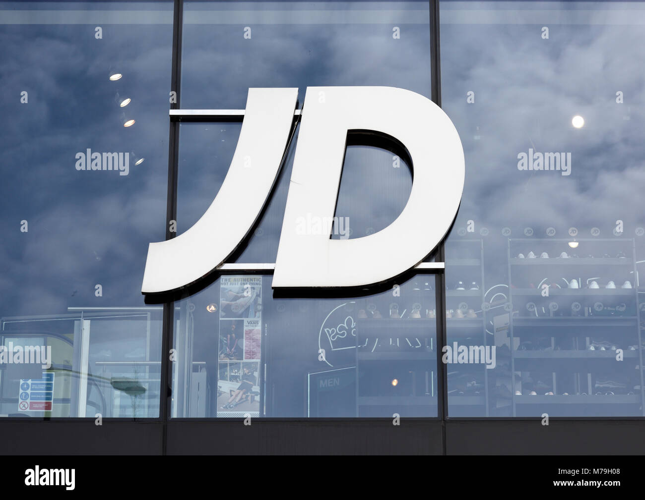 jd sports logo high resolution stock photography and images alamy https www alamy com stock photo jd sports logo on glass store front in bury lancashire uk 176617176 html