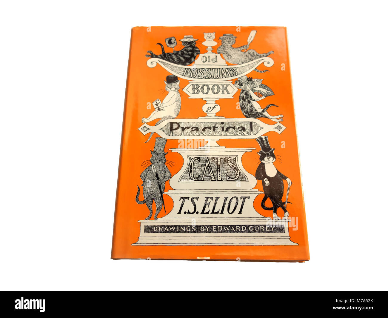 Old Possums Book of Practical Cats by TS Eliot Stock Photo