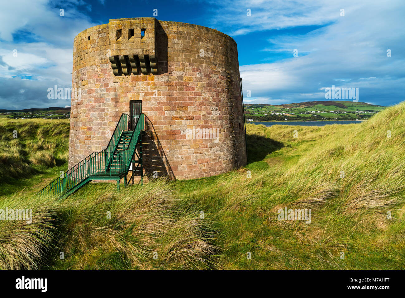 Fortress in the Magilligan Point, Northern Ireland - Stock Image