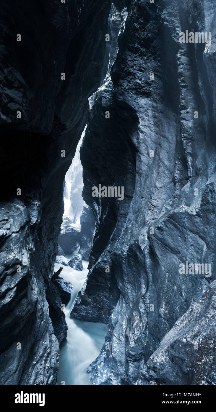 Liechtenstein Gorge, Salzburg state, Austria - Stock Image