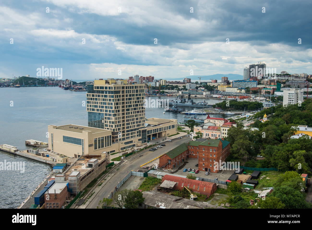 Outlook over Vladivostok, Russia - Stock Image