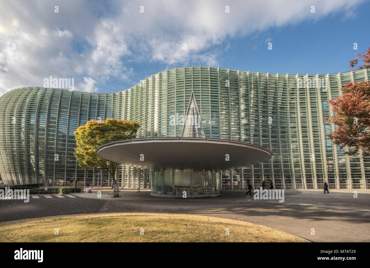 Japan, Tokyo City, National Art Center Bldg. - Stock Image