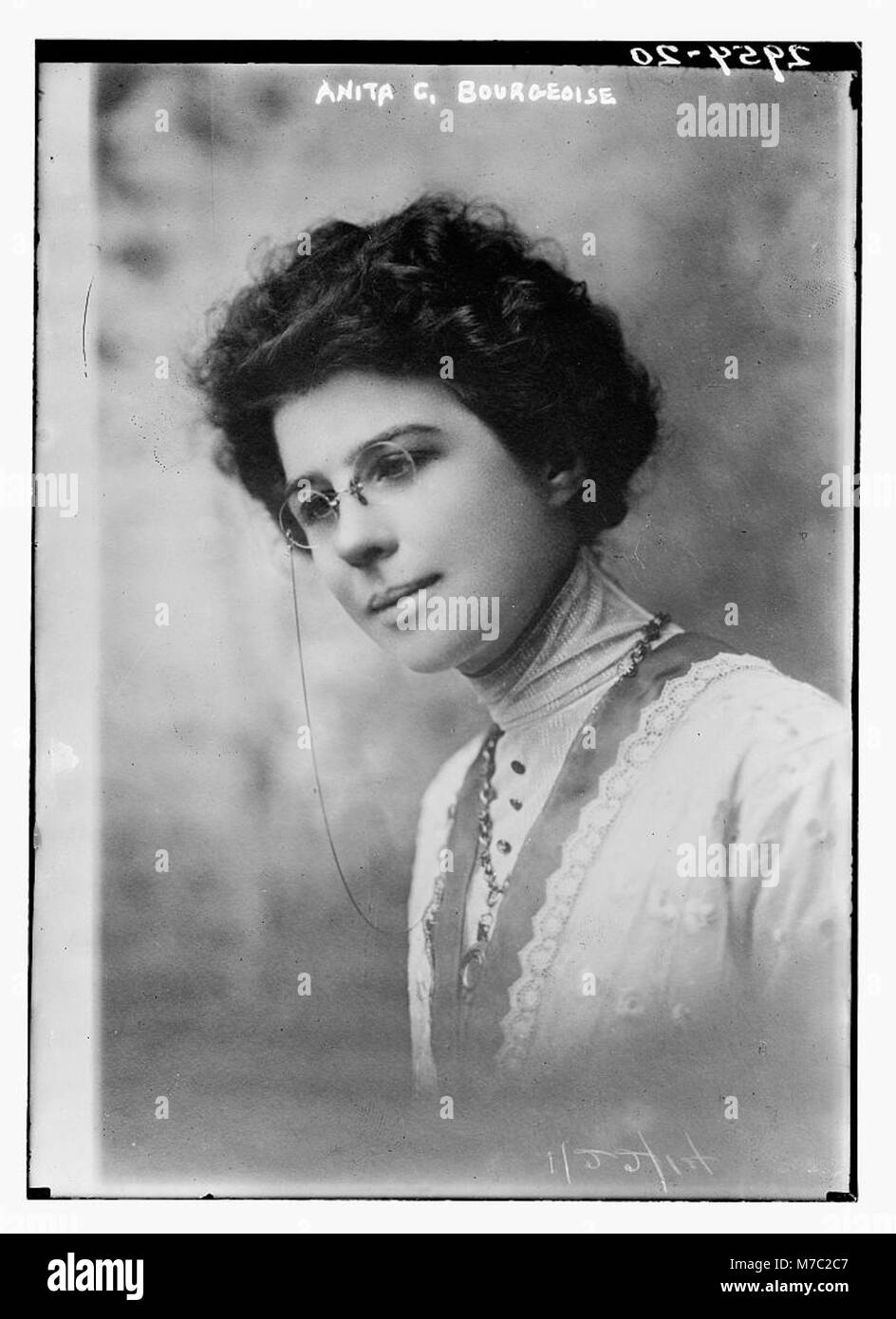 Anita C. Bourgeoise LCCN2014695148 - Stock Image