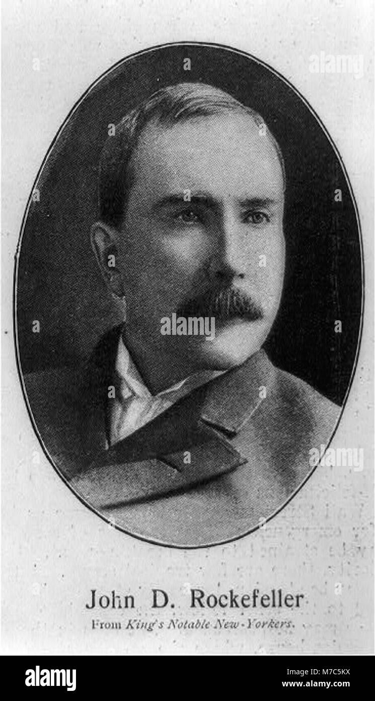 John Davison Rockefeller, 1839-1937 LCCN2002706139 - Stock Image