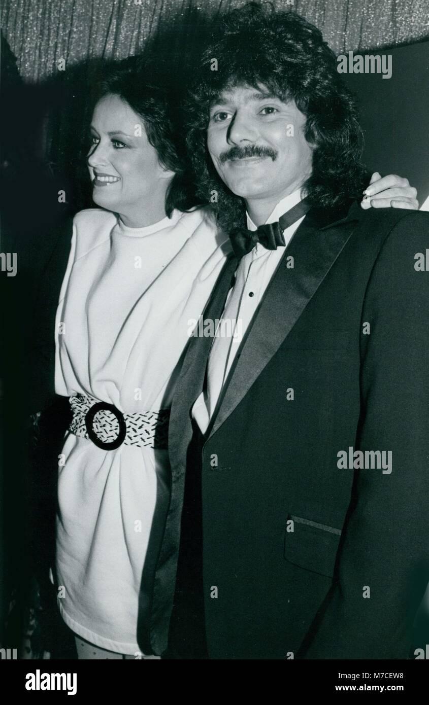 Grace Slick & Mickey Thomas 1977 Photo By John Barrett-PHOTOlink - Stock Image