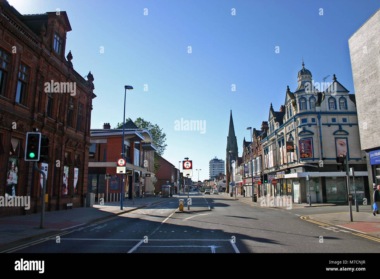 High Street, West Bromwich - Stock Image