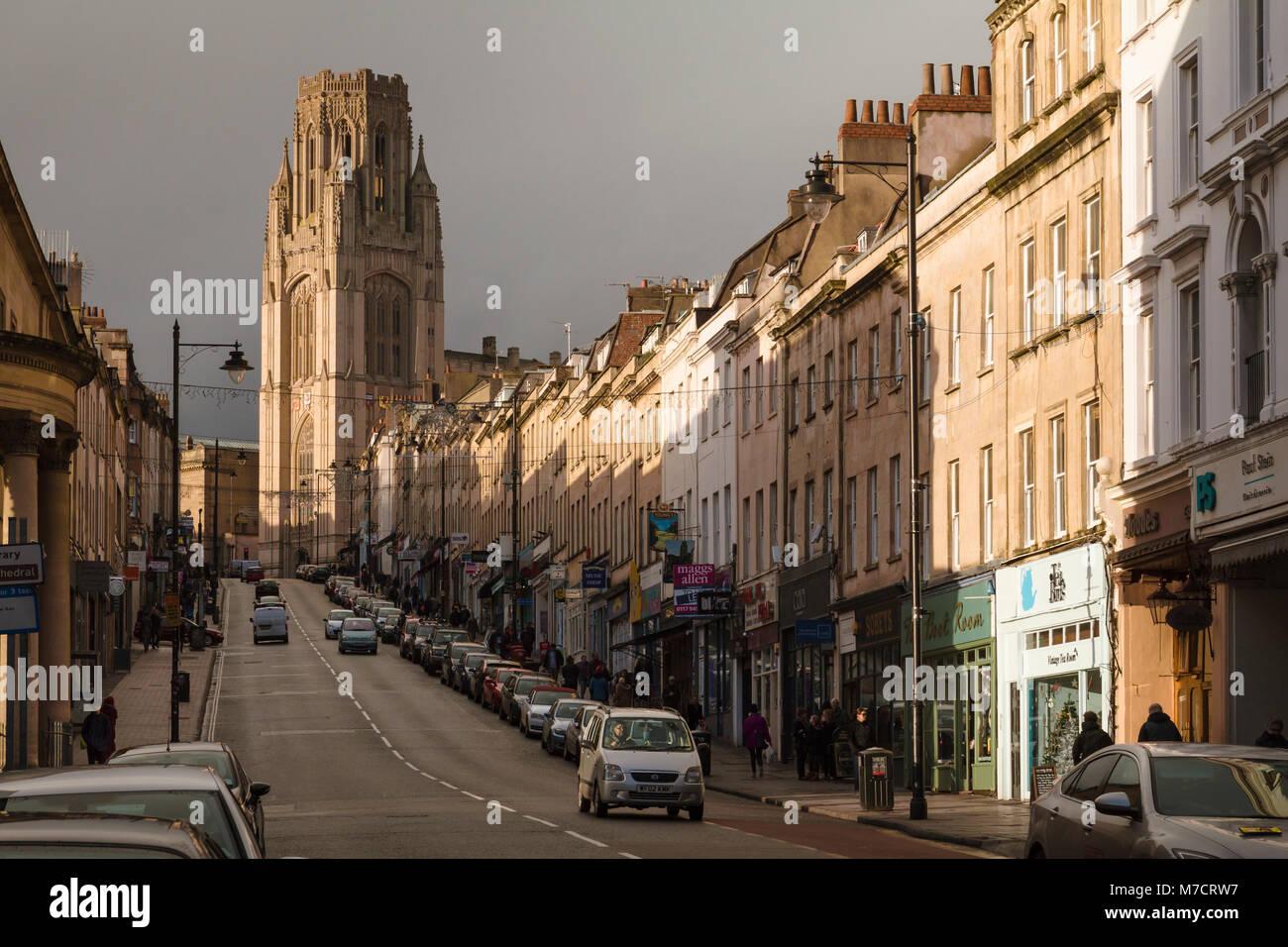 Shops In Clifton Bristol Stock Photos & Shops In Clifton