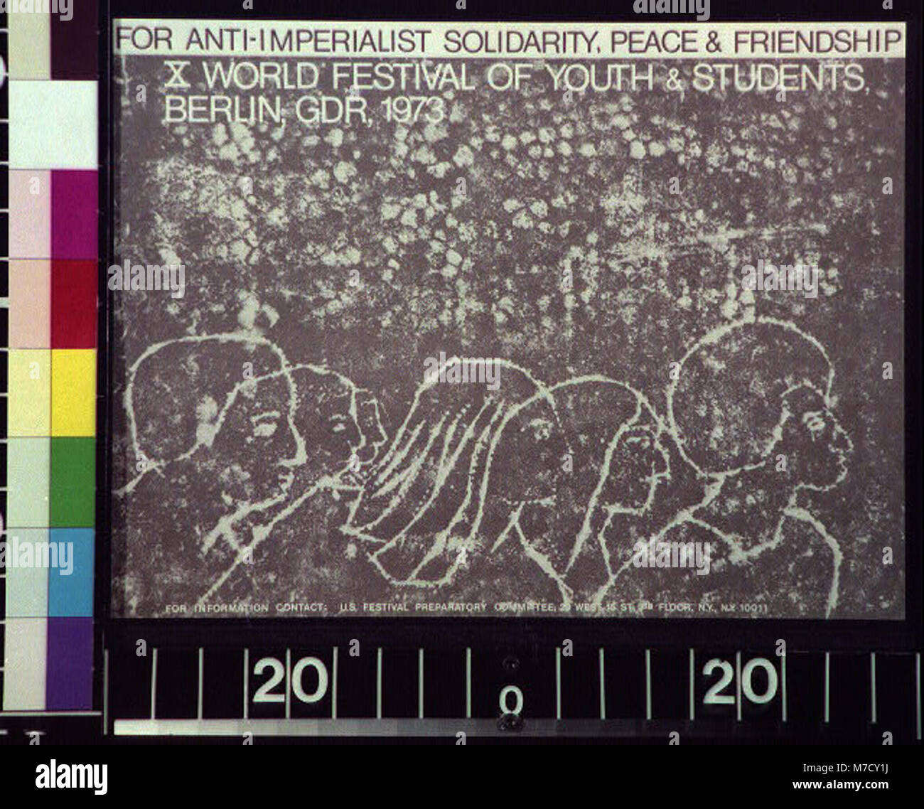 For anti-imperialist solidarity, peace & friendship LCCN2015648065 - Stock Image