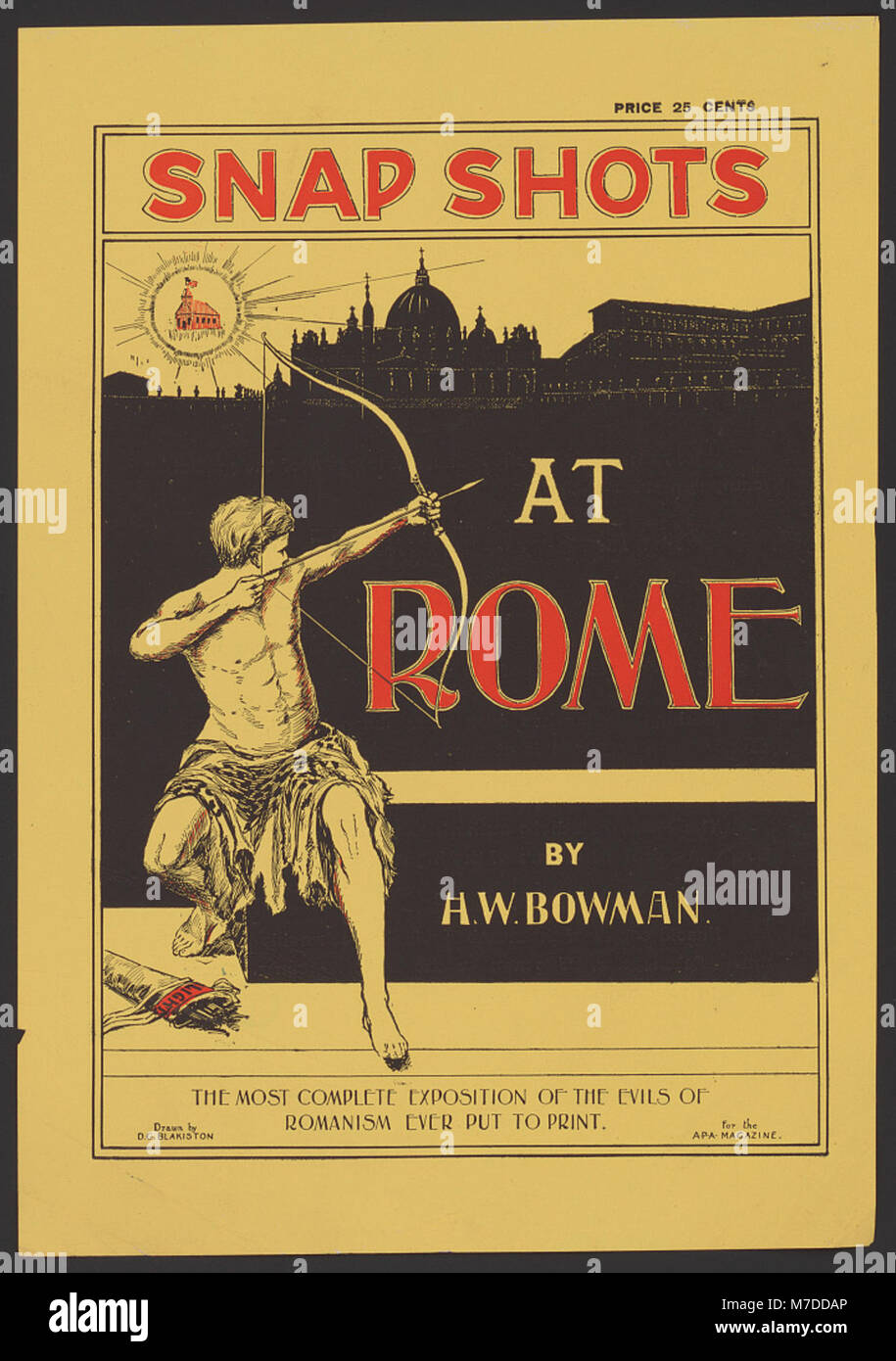Snap shots at Rome by H.W. Bowman. LCCN2014647816 - Stock Image