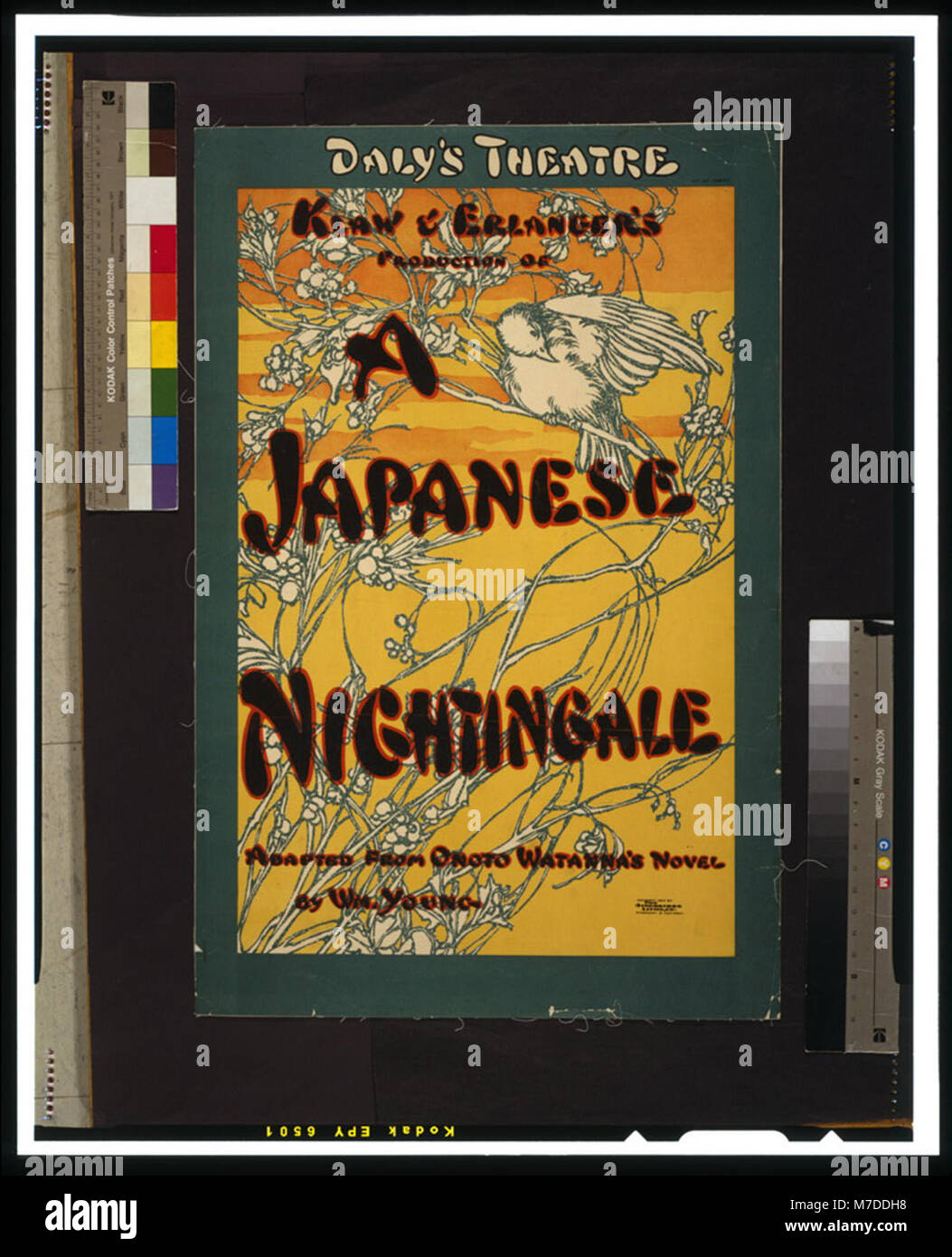 Klaw & Erlanger's production of A Japanese nightingale adapted from Onoto Watanna's novel by Wm. Young. - Stock Image