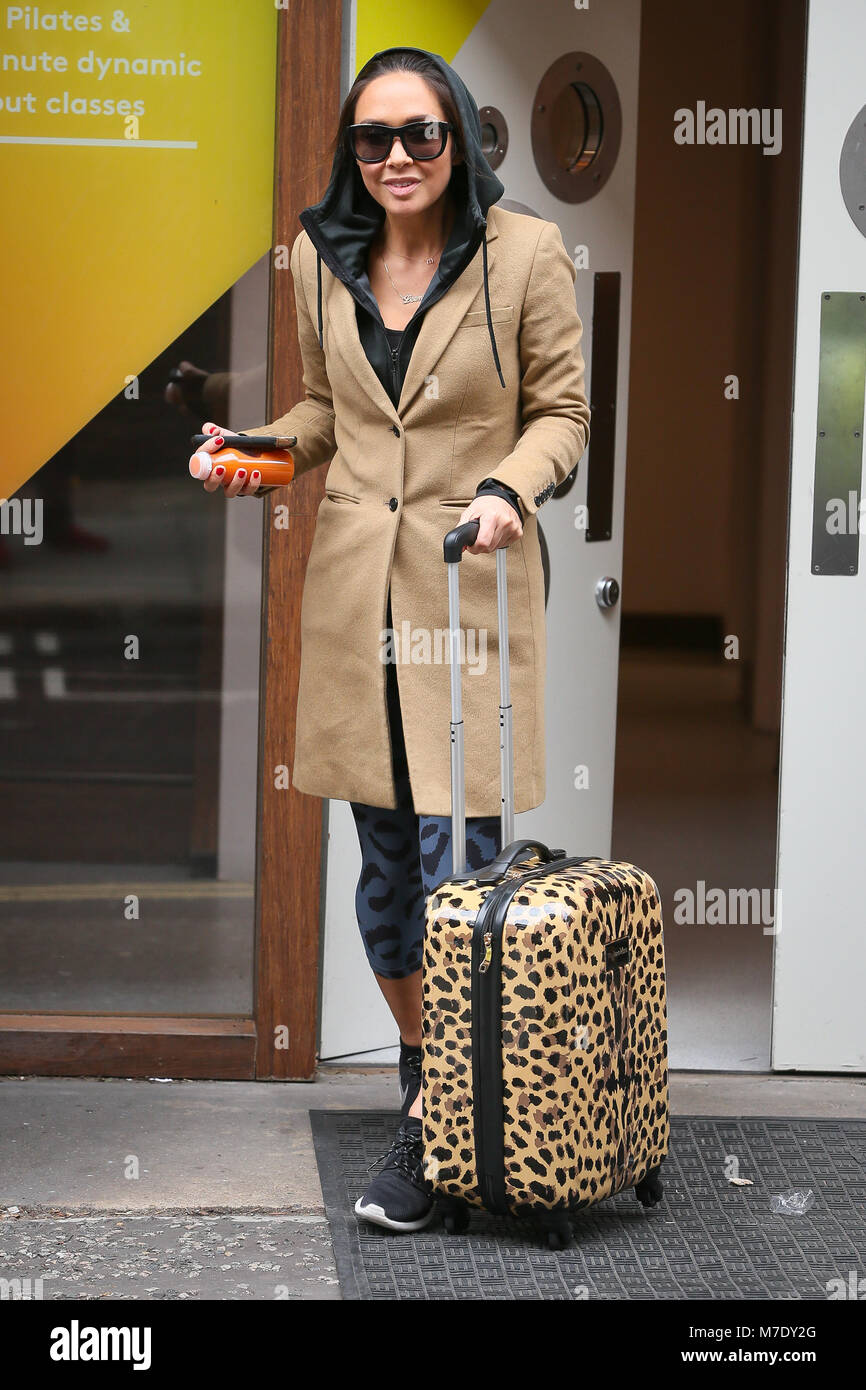 cbcf4943ff Myleene Klass leaving Good Vibes Studios after promoting her new 'MyBody'  work out class