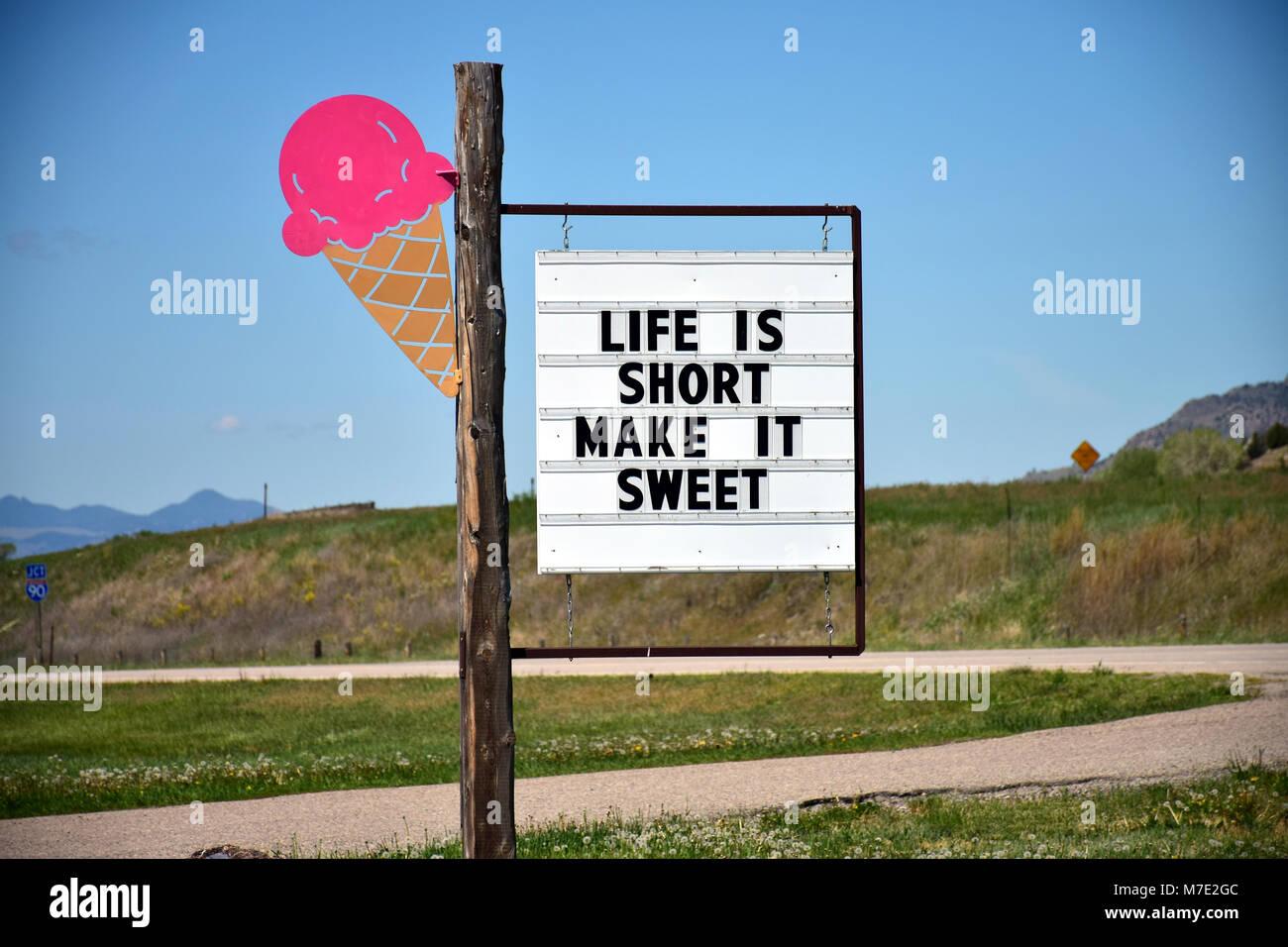 Make it sweet - Stock Image