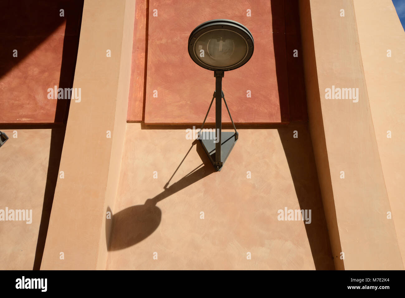 Contemporary Street Light or Modern Designer Street Lamp Aix-en-Provence France - Stock Image