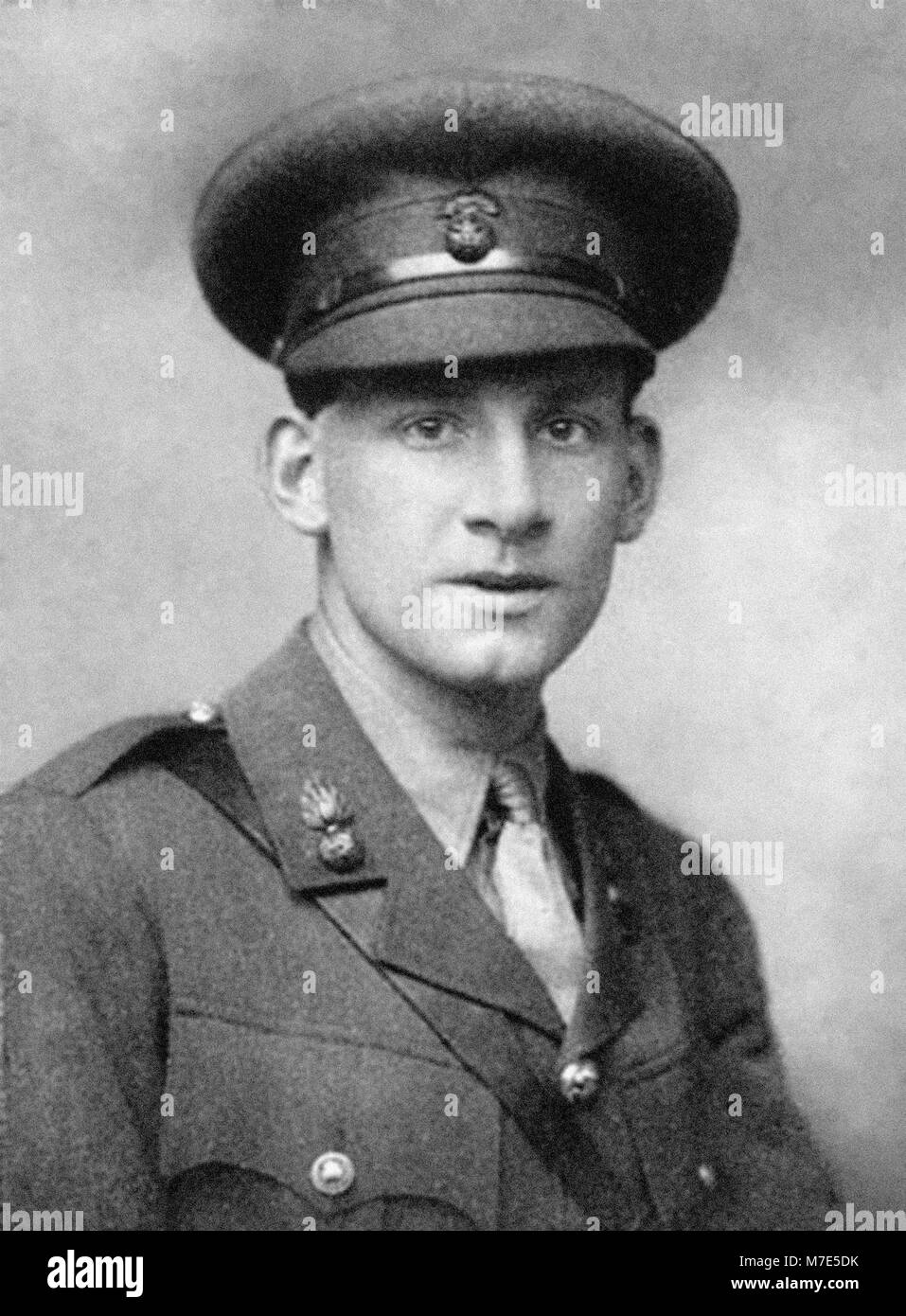 Siegfried Sassoon (1886-1967). Portrait of the English poet and soldier by George Charles Beresford, 1915. - Stock Image