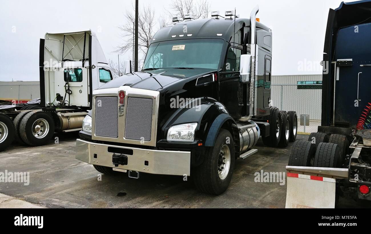 2019 Kenworth T880 heavy truck Ph 3 - Stock Image
