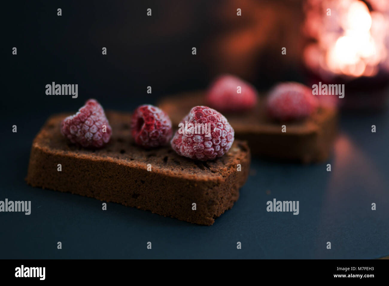 food photography - cakes - Stock Image
