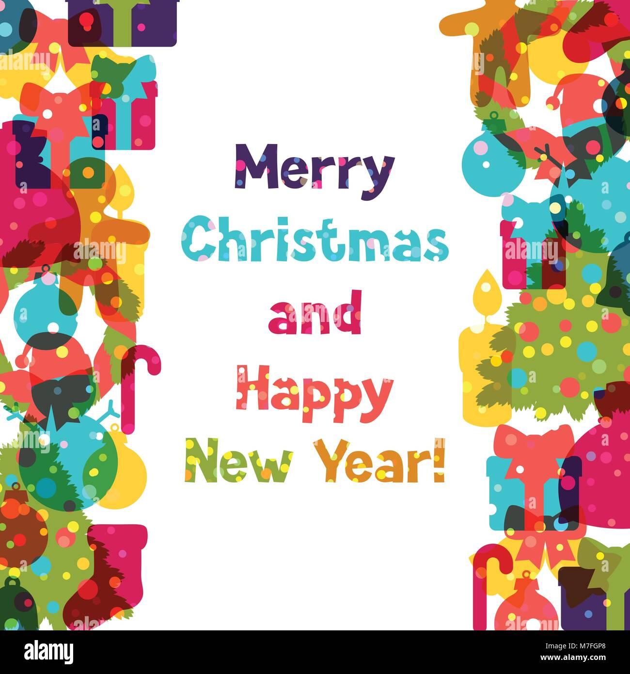 Happy New Year Invitation Card 17
