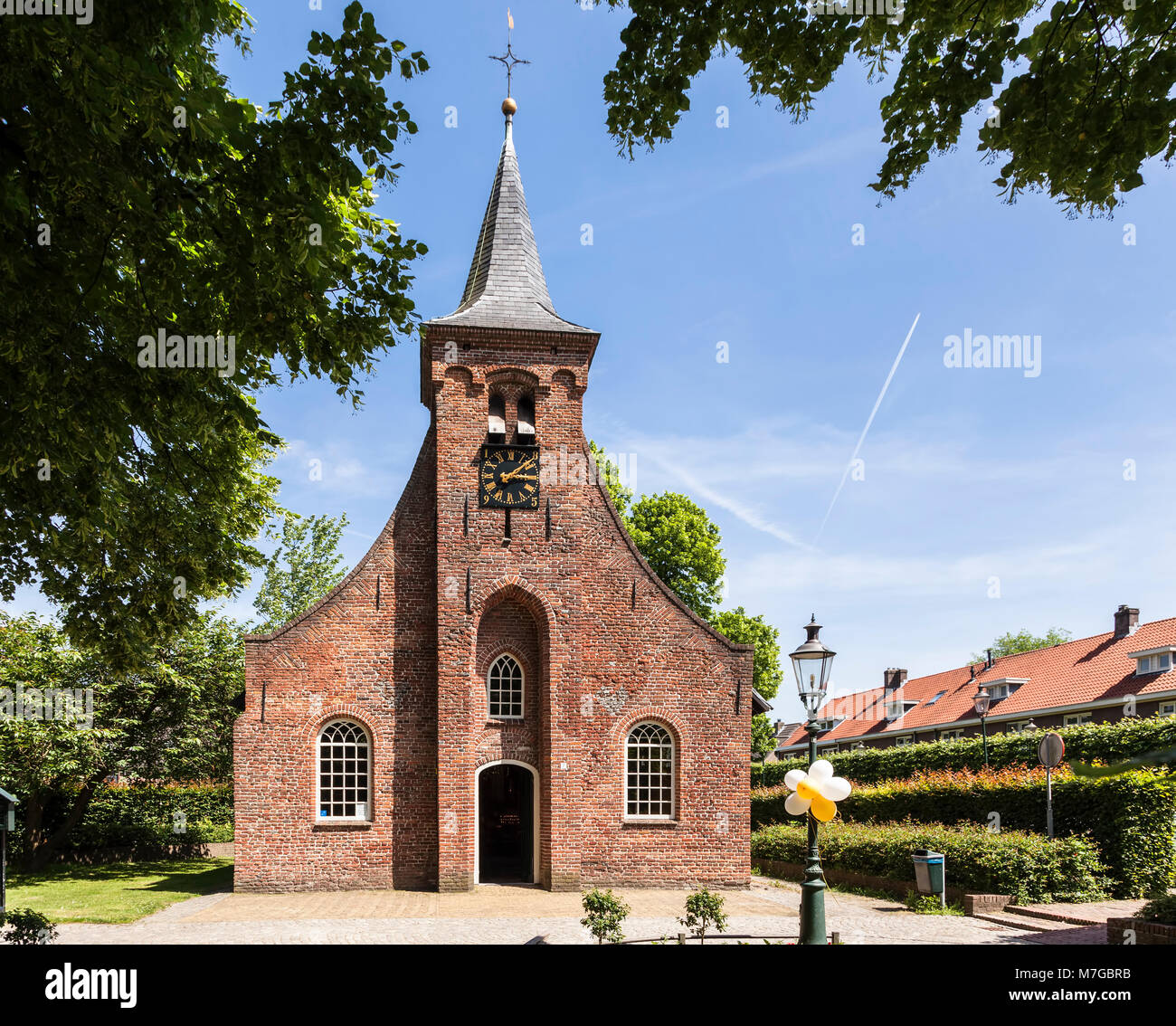 Hasseltse Chapel, in the dutch souther city of Tilburg. It was built around 1540 and dedicate to the Virgin Mary. - Stock Image