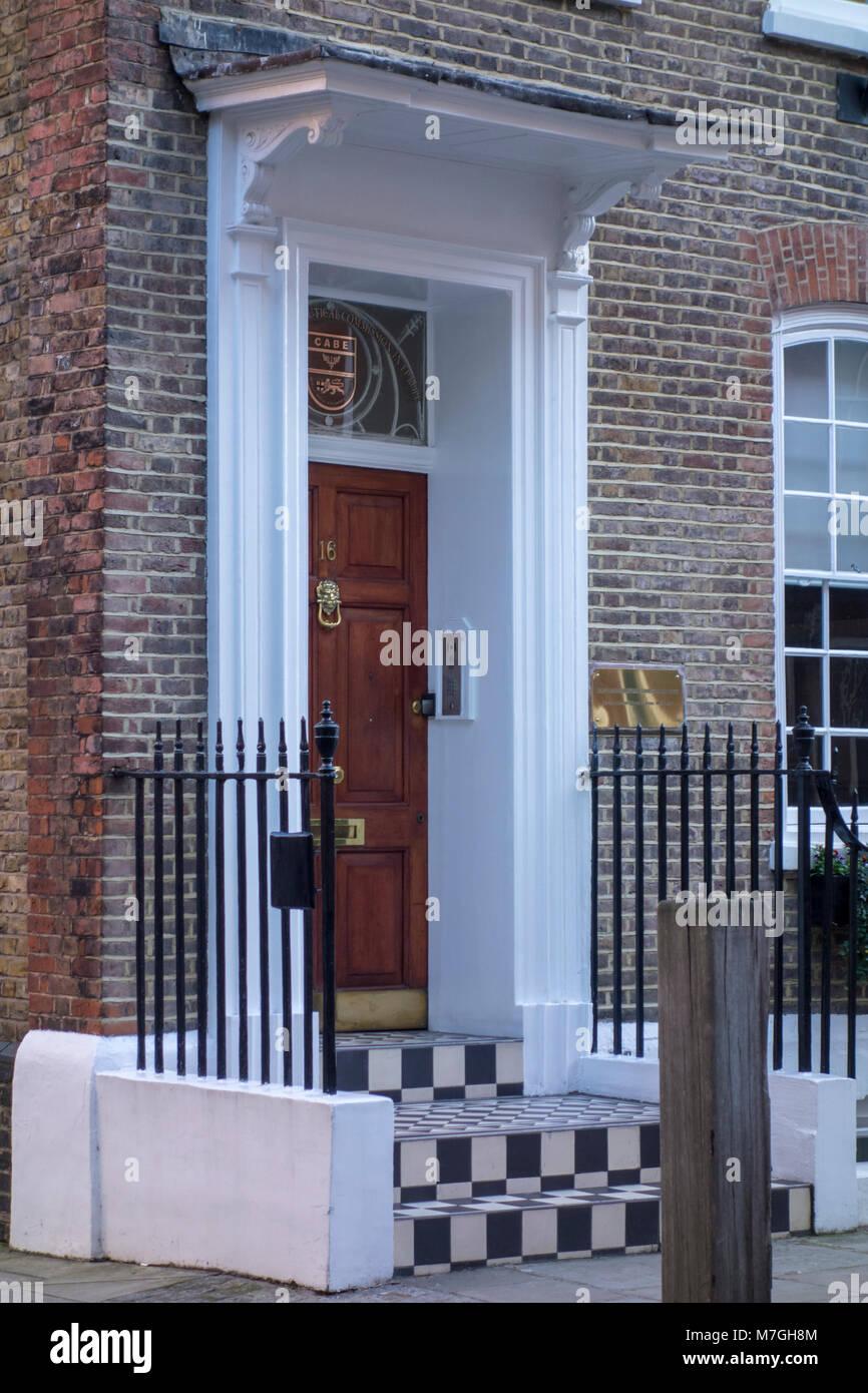 Brazilian Aeronautical Commission in Europe, BACE, Great James Street, London, UK - Stock Image