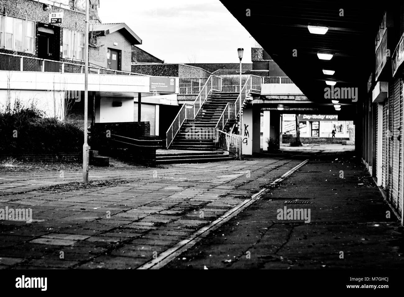 Pollokshaws Arcade in southside of Glasgow - Stock Image