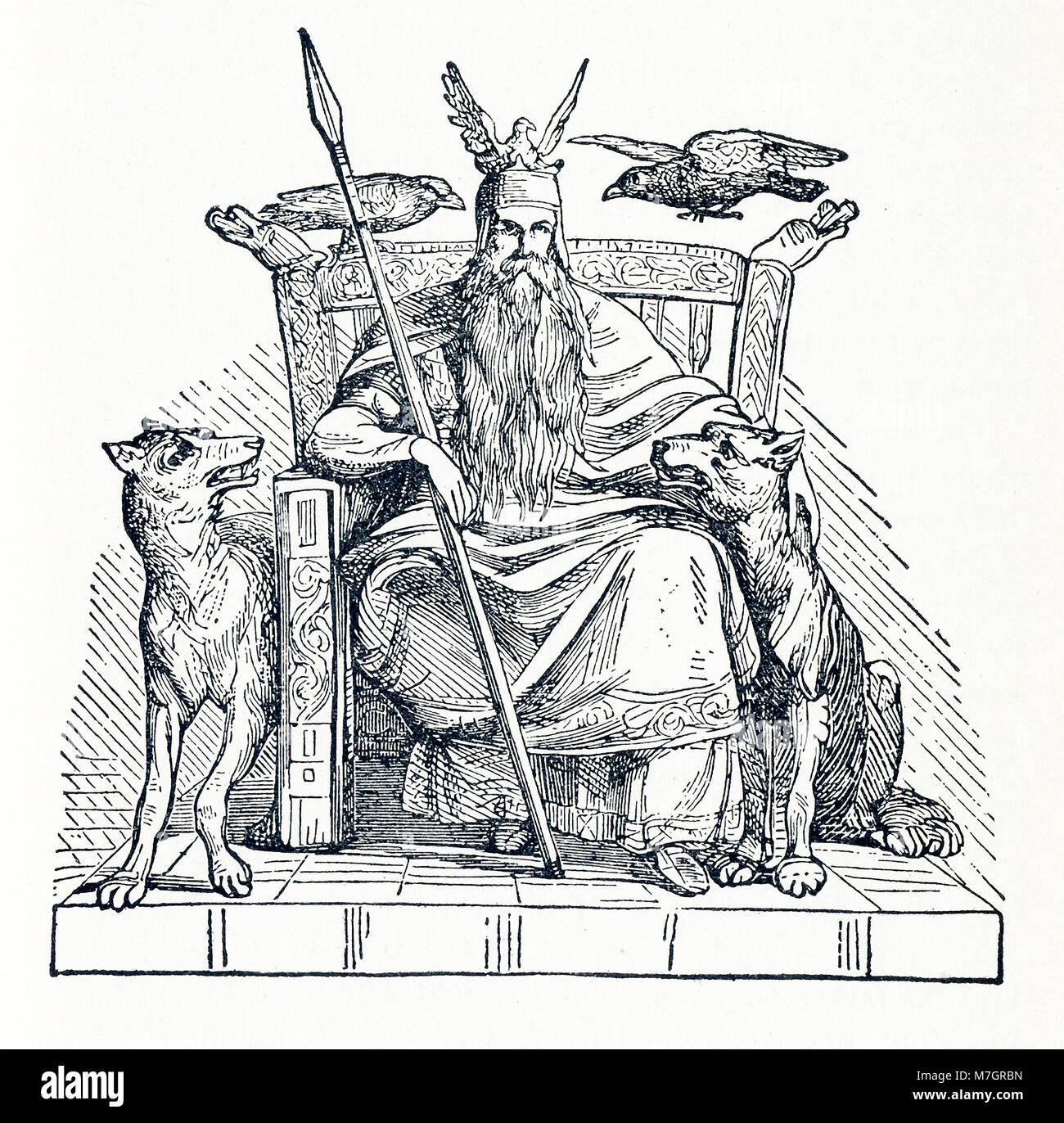 Norse mythology odin ruler of
