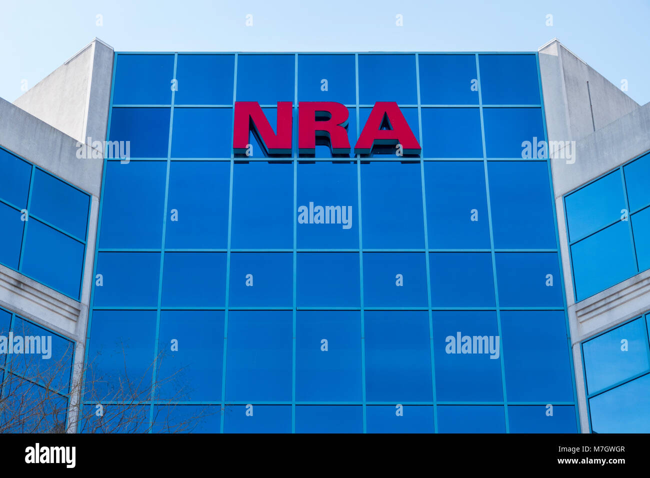 e995117b27b NRA National Rifle Association headquarters in Fairfax Virginia VA gun  rights lobbying group in USA -