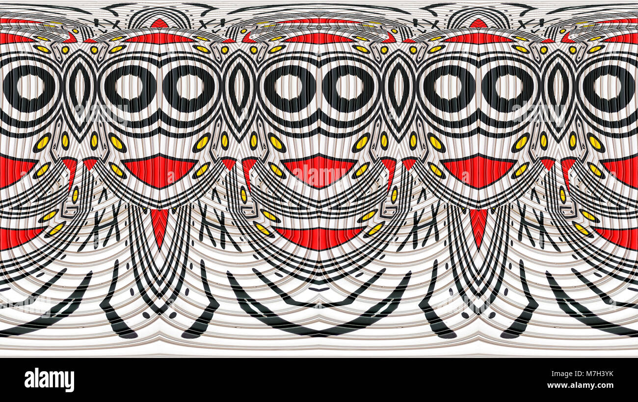 pattern repeated - Stock Image